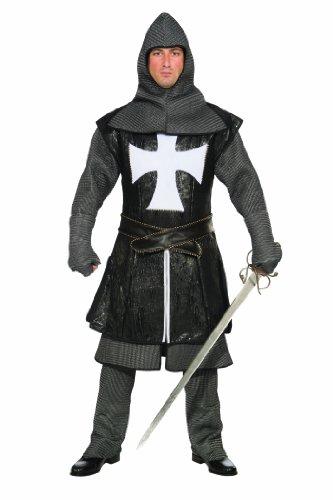 Forum Novelties Medieval Black Knight Costume Adult X-Large