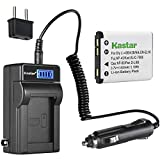 Kastar 1-Pack KLIC-7006 Battery and LCD AC Charger Compatible with Kodak KLIC-7006 LB-012 Battery and Charger, Kodak PixPro FZ51 (KDK-FZ-51BL), PixPro FZ52, PixPro FZ53, PixPro SL5 Smart Lens Cameras
