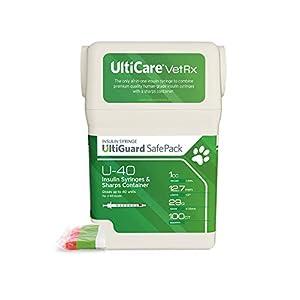 buy  UltiCare VetRx U-40 UltiGuard Safe Pack Pet ... Diabetes Care