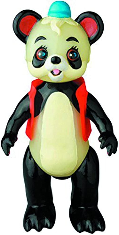 Medicom Panda keine Ponta Ron Sofubi Action Figur
