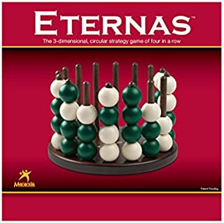 Maranda Enterprises Eternas Classic - The 3-Dimensional,Circular Strategy Game of Four-in-a-Row!