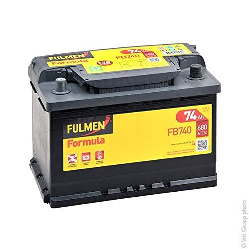 Fulmen - Batería para coche FB740 12V 74Ah 680A - Batería(s)