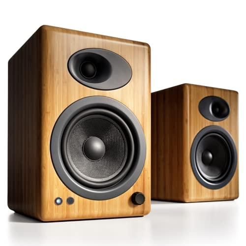 Audioengine A5+ (Plus) Powered Speaker | Desktop Monitor Speakers Computer Sound System | 150W...