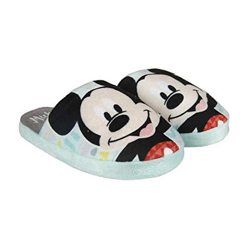 Mickey Mouse Unisex Baby S0713960 Sneaker, Himmelblau, Medium