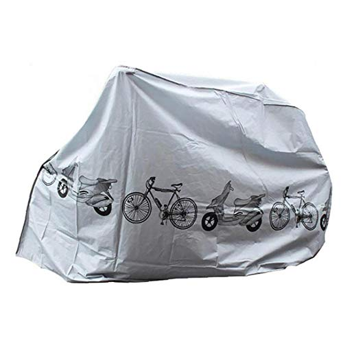 Cubiertas para Bicicletas Polvo Lluvia Cubierta Exterior de protección UV Cubierta Impermeable de Bicicletas