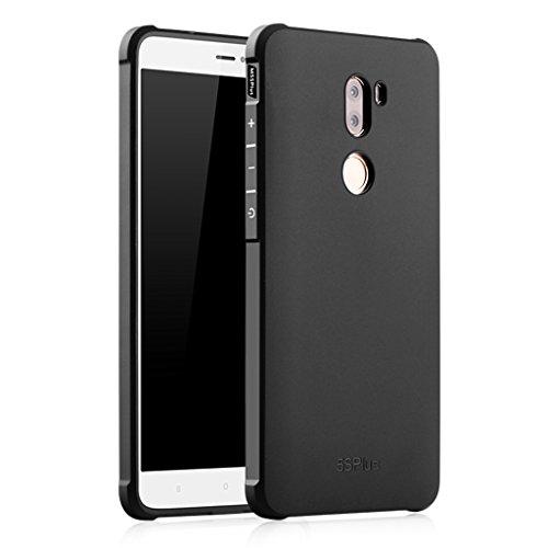 XMT Xiaomi Mi5S Plus Custodia in TPU Armor Cover Custodia per Xiaomi Mi5S Plus 5.7 Pollice Smartphone(Nero)