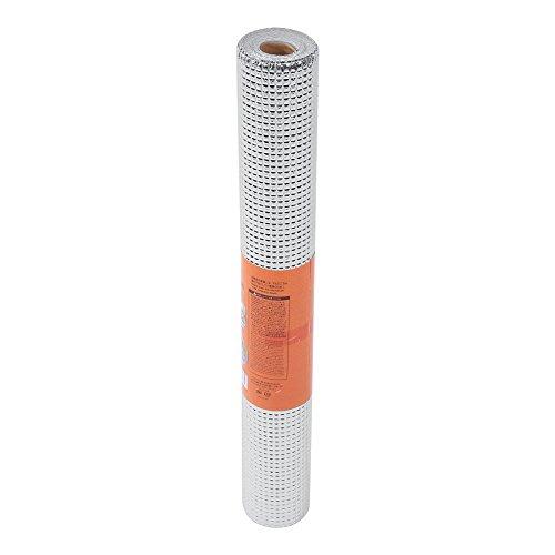 Agatige 17.7 × 78.74in Lámina de estaño Impermeable, Papel de Estante de Aislamiento térmico para Cocina