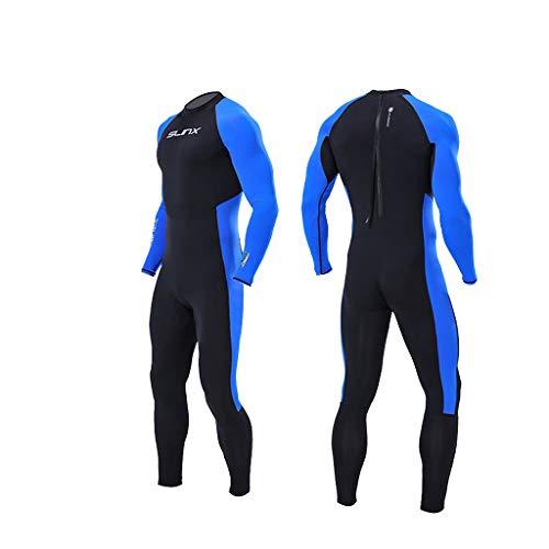 Dasongff Herren - Neoprenanzug 3mm für Alle Wassersportarten, Monopiece Tauchanzug in voller Länge