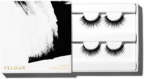 Velour Mink Lashes False Eyelashes Ultra Thin Flexible Cotton Lash Band Multi pack 24 Styles product image