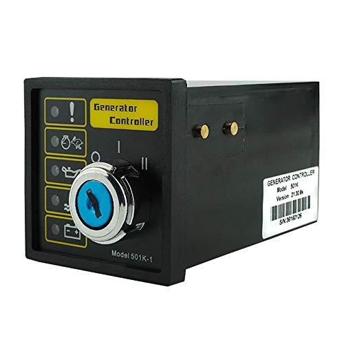 Fácil de instalar Módulo de control del grupo electrógeno, controlador automático, módulo de control del motor manual