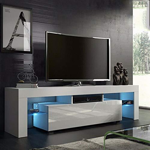 Cocoarm Fernsehschränke Moderne TV Schrank Hängeschrank Wohnzimmer Lowboard Fernsehtisch Weiß...