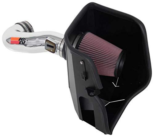 K&N Cold Air Intake Kit: High Performance, Guaranteed to Increase Horsepower: 2019-2020 CHEVROLET Silverado 1500; 2019-2020 GMC Sierra 1500, 77-3110KP