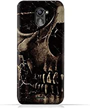 infinix Hot 4 Pro X556 TPU Silicone Protective Case with Dark Skeleton Pattern
