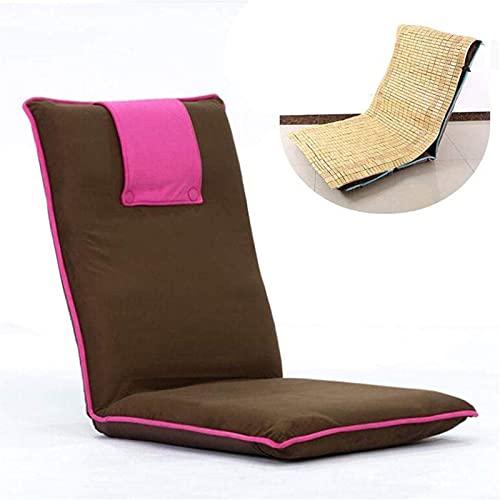 Sillas reclinables para acampar Tumbonas de jardín Silla plegable Silla de suelo...