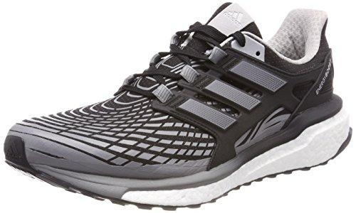 adidas Energy Boost M, Zapatillas de Entrenamiento para Hombre, Negro (Core Black Three/Grey Two 0), 41 1/3 EU