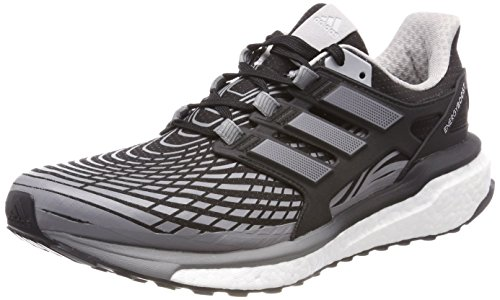 adidas Energy Boost, Chaussures de Running Homme, Noir (Core Black Three/Grey Two 0), 46 EU