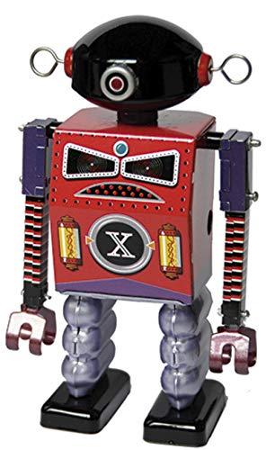 CAPRILO Juguete Decorativo de Hojalata Robot Dark Templar. Juguetes y Juegos de Colección. Regalos Originales. Decoración Clásica.