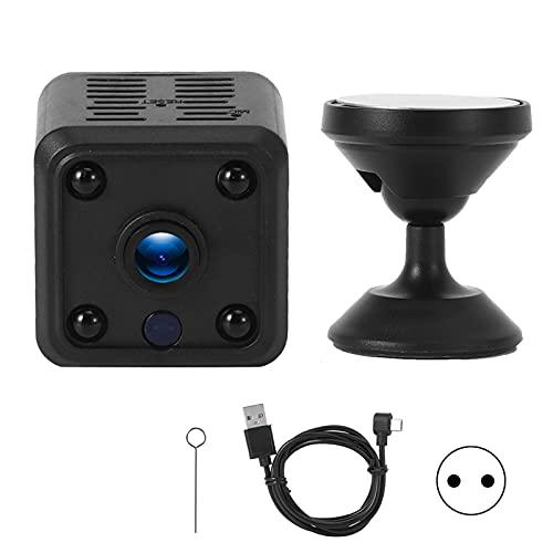 Gaeirt Cámara inalámbrica de 145 °, cámara de Seguridad inalámbrica de 2 vías IP 1080P, visión Nocturna/detección de Movimiento, cámara Interior para el hogar para bebés/Mascotas/niñeras(Negro)