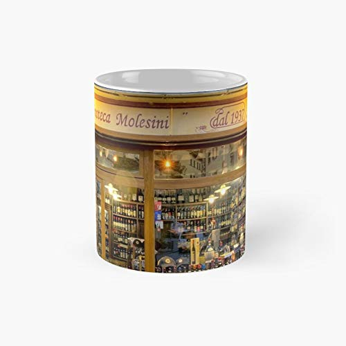 Tuscany Wine Shop Classic Mug | Best Gift Funny Coffee Mugs 11 Oz
