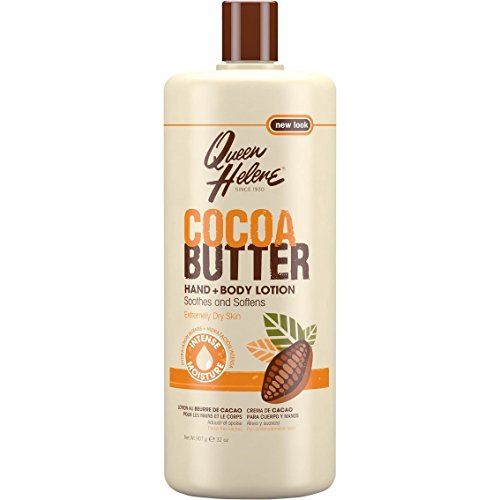 QUEEN HELENE Cocoa Butter Hand and Body Lotion 32 oz (Pack of 4)