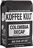 Koffee Kult Colombian Decaf Coffee, Medium Roast, Water Process...