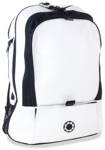 DadGear Backpack Diaper Bag - Wicked White