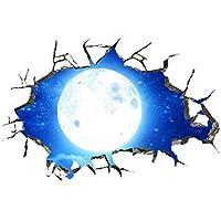 YWLINK Personalidad Espacio De La Pared Rota Planeta Vinilo Dormitorio Sala De Estar Oficina del Techo Dormitorio Etiqueta De La Pared Removible CalcomaníAs Murales DecoracióN del Arte