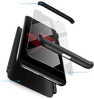 RINOJF Funda Compatible Xiaomi K20(Pro)/Mi 9T(Pro) Carcasa[2 Vidrio Templado] 360° protección Caja Ultra Delgado Duro PC 3 en 1 Anti-Golpes Anti-Arañazos Case Cover para K20(Pro)/Mi 9T(Pro)-Negro