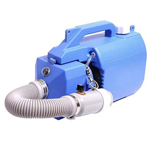 TOPQSC 220V Pulverizador ULV eléctrico 5L Máquina nebulizadora portátil Máquina de desinfección Mosquito Killer Esterilización Industrial para higiene Escuela de jardín
