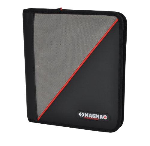 C.K MAGMA Magma MA2600 Dokumentenmappe 340 x 300 x 40 mm schwarz, rot, grau