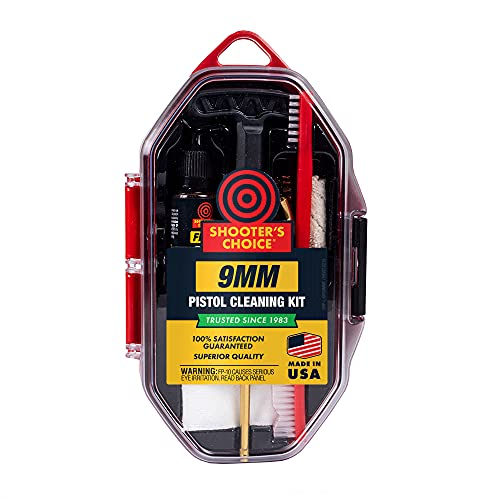 Shooter's Choice 9mm Pistol Cleaning Kit