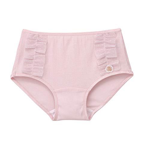 [ワコール] [ワコールキッズ] 女児ショーツ CAQ141 身生地綿100% PI 日本 130 (日本サイズ130 相当)