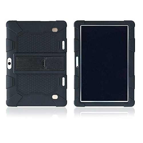 Meaney Universal Shockproof Silicone Stand Case Cover for 10.1 Inch Android Tablet PC Protective
