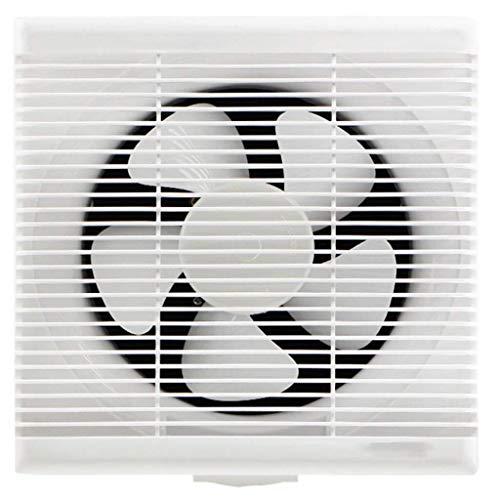Ventilador de ventilación doméstico Extintor De 10 Pulgadas, Cocina/Baño Cuadrado De Pared De La Ventana Tipo 30X30 Ventilación Potente Ventilador Silencioso LITING
