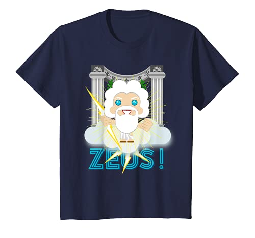 Kids Zeus Greek Olympian God Mount Olympus Greek Mythology Lover T-Shirt