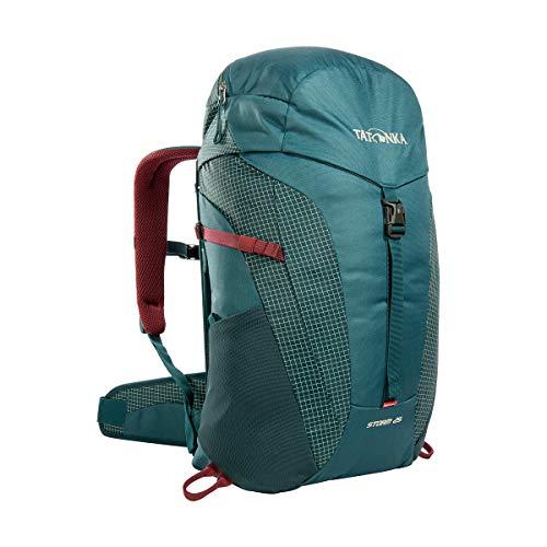 Tatonka Wanderrucksack Storm 25l mit Rückenbelüftung und Regenschutz - Leichter, bequemer Rucksack zum Wandern mit RECCO-Reflektor - Damen und Herren - 25 Liter - teal green