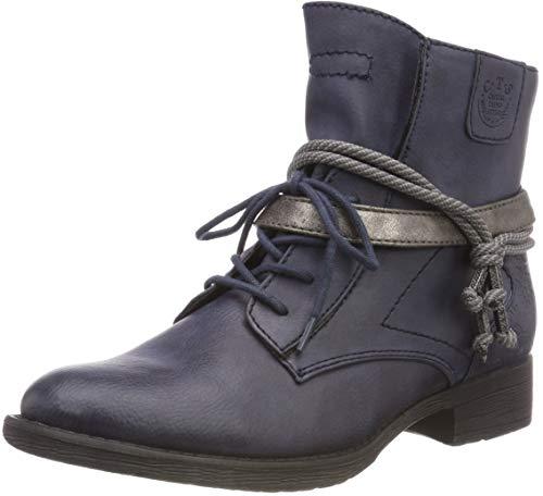 Jana 8-8-25208-21 805, Damen Chukka Boots, Blau (Navy 805), 38 EU (5 UK)