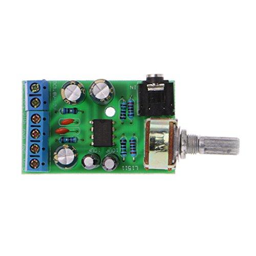 MISHITI DC 1.8-12V TDA2822M 2.0 Canali ereo Mini AUX Audio Amplificatore Scheda Modulo AMP