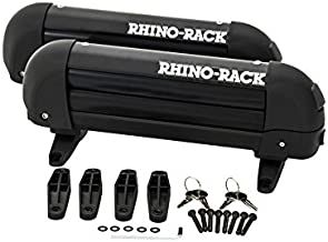 Rhino-Rack Ski & Fishing Rod Carrier with Universal Mounting Bracket, Easy Use & Fitment, Heavy Duty; Lightweight (572), 31 inch external, 27 inch internal
