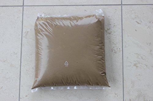 Lehmmörtel SENDEO | Fertig gemischter Ofenbau Mörtel in Profi Qualität | Auf Basis von Premium Lehmpulver