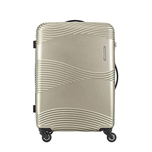 スーツケース カメレオン by サムソナイト (TEKU テク SPINNER 68/25 TSA 無料預け入れ メーカー1年保証) 68cm Mサイズ KAMILIANT by Samsonite キャリーバッグ キャリーケース (ライトゴールド)