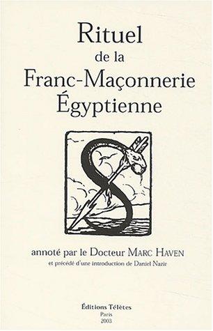 Rituel de la Franc-Maçonnerie Égyptienne