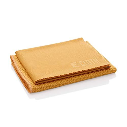 E-cloth - Kit panno per pulizia vetri e panno lucidante