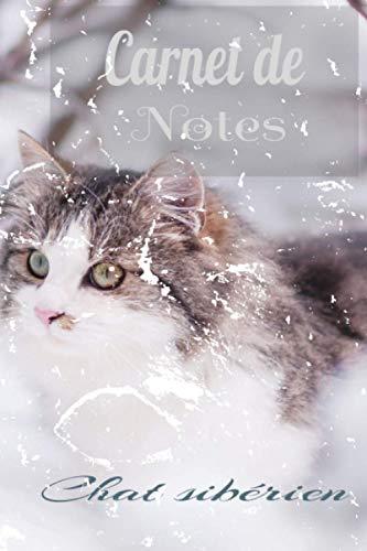 Carnet de notes: Chat sibérien