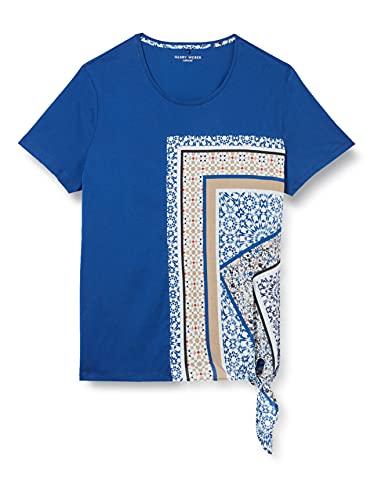 Gerry Weber Casual T-Shirt 1/2 Arm, Lapislazzuli, 42 Donna