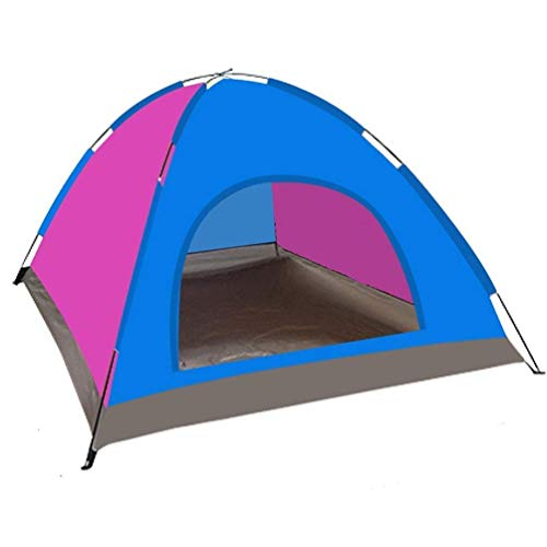 CCJW Outdoor Tent 6-8 People Manual Erection Camping Tent Single Layer Tent Waterproof Environmentally Friendly Fabric for Beach,Outdoor,traveling,hiking,camping kshu