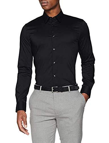 Sisley Shirt, Camicia Formale Uomo Slim Fit