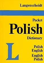 Langenscheidt's Pocket Polish Dictionary English- Polish Polish-English (Langenscheidt's pocket dictionaries)