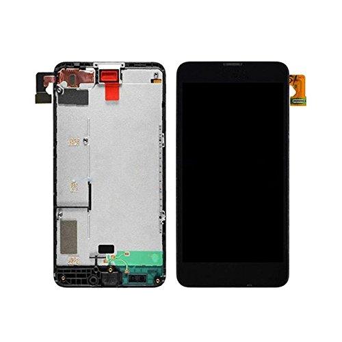 Generic LCD-Display und Touchscreen-Digitizer mit Rahmen, kompatibel mit Nokia Lumia 630
