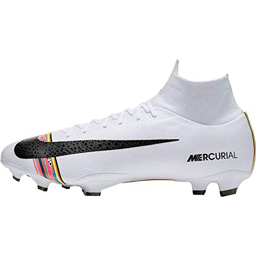 Nike Superfly 6 Pro FG, Zapatillas de fútbol Sala Unisex Adulto, Multicolor (Pure Platinum/Black/White 000), 42.5 EU